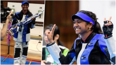 ISSF Junior World Cup 2019: India Creates New WR to Win Team Gold in 10m Air Rifle; Elavenil Valarivan, Mehuli Ghosh Top Individual Events