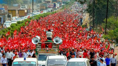 Kisan Long March-2: Maharashtra Farmers Launch March From Nashik to Mumbai for Second Time in 12 Months