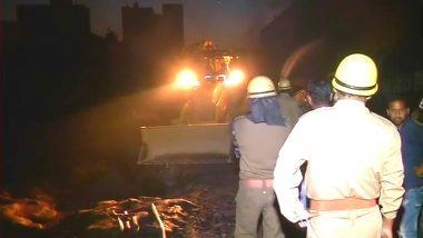 Major Fire Break-Out in Delhi: 20 Fire Tenders Rushed to the Spot; No Casualties Reported