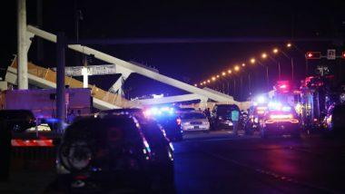 Florida Bridge Collapse: 4 Dead, 9 Injured; Rescue Operations Underway