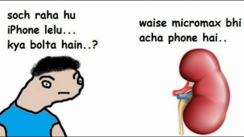 World Kidney Day 2018: Funny Jokes on Kidneys and Kidney Stones Will Relieve You of Stress!