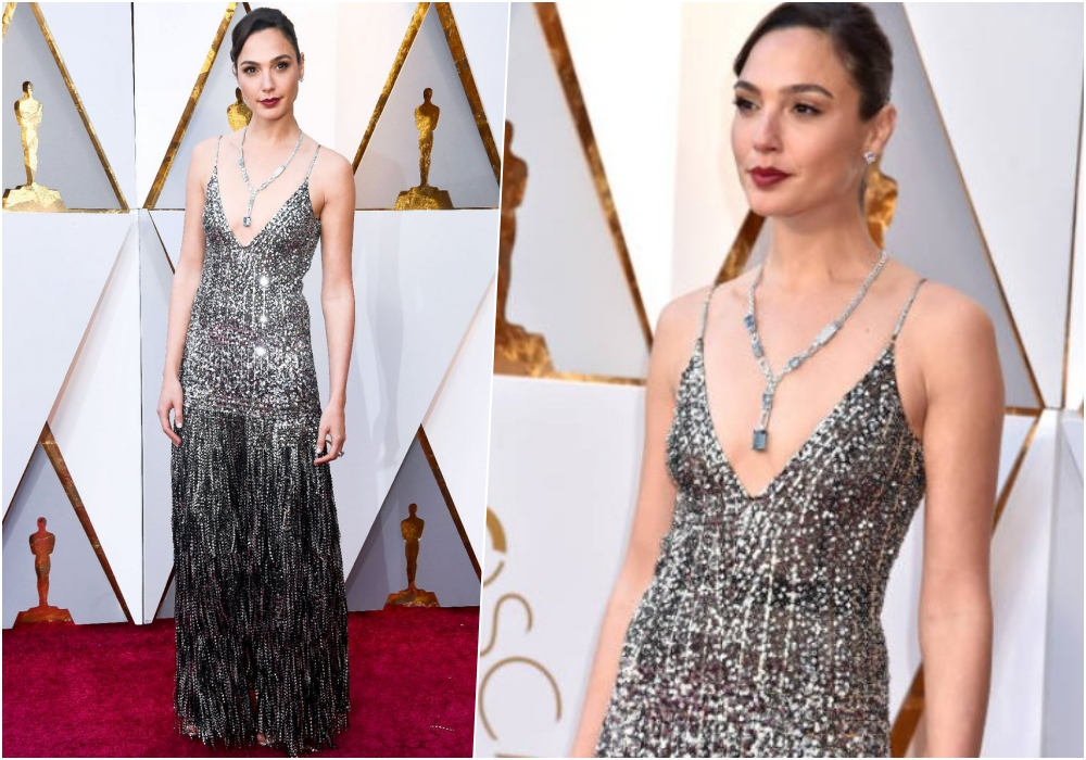 Gal Gadot Wore Dazzling Givenchy Gown | Oscars 2018 Red