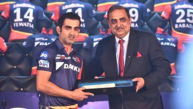 Gautam Gambhir STEPS DOWN as Delhi Daredevils' Captain, Shreyas Iyer to Take Over for Rest of IPL 2018 Matches