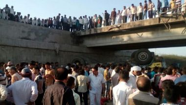 Gujarat: 30 of Wedding Party Killed as Truck Falls From Bridge in Bhavnagar