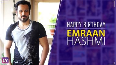 Emraan Hashmi Birthday Special: A Compilation of Some of His Best Songs That Still Top Our Playlist