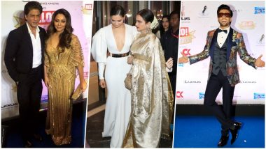 Hello Hall Of Fame Awards 2018 in Pics: SRK-Gauri, Deepika-Ranveer, Rekha & Others Grace the Show