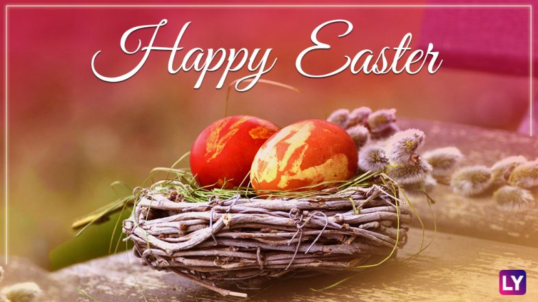 Easter 2018 Greetings GIF Images Easter Quotes Facebook Status Whats App Messages & SMSes To Wish A Happy Easter