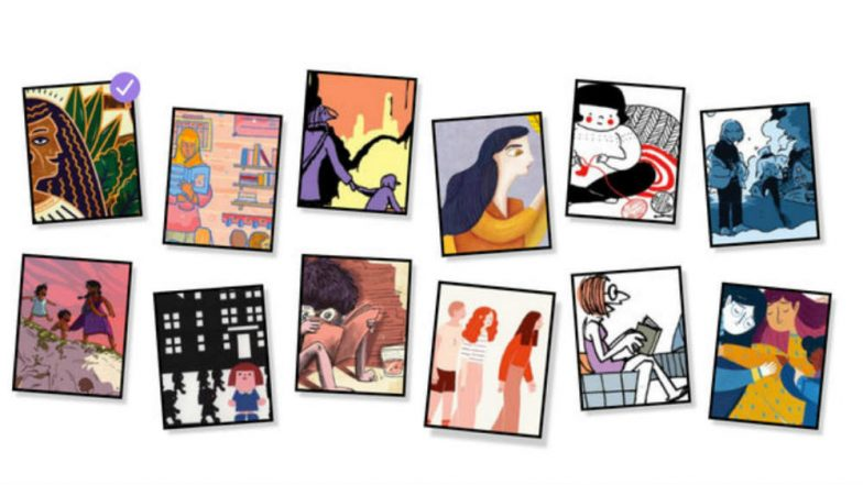 Google celebrates Women's Day with doodle and #herstory campaign