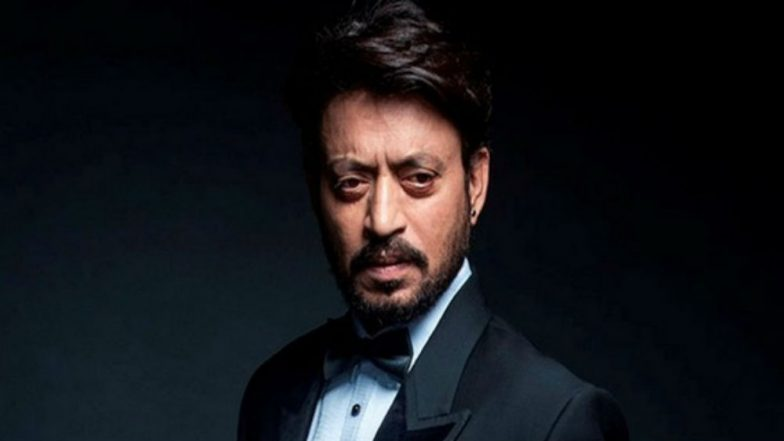 Indian Actor Irrfan Khan Reveals Tumor Diagnosis
