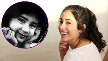 Birthday Girl Janhvi Kapoor Is CUTENESS PERSONIFIED In This Throwback Pic