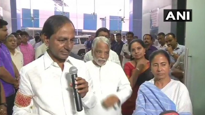 KCR After Meeting Mamata: Third Front Will be For People