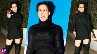 Kangana Ranaut's 'Mental Hai Kya' Expressions Go Well With Her Faux Pas! PICS