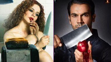 Mental Hai Kya New Poster Look 3:Kangana Ranaut and Rajkumar Rao Look Their Weirdest Best!