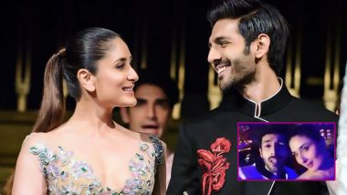 Kareena Kapoor Khan And Kartik Aaryan Get Goofy In Singapore And We Just Can't Get Enough Of Them - Watch Video