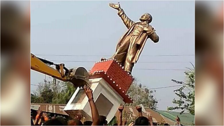 Lenin Statue Toppled In Tripura: Videos Of Statues Taken Down In The World From Stalin To Saddam