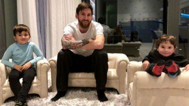 Lionel Messi Shares Cute Pic of Third Son 'Ciro': Wife Antonella Roccuzzo Delivers Healthy Baby Boy