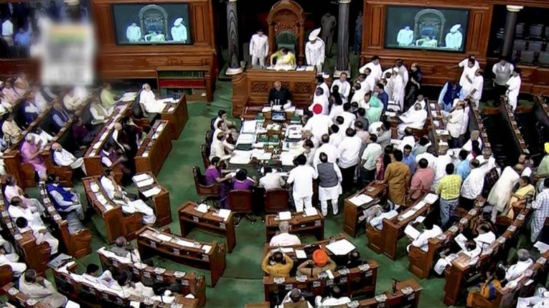 Bill Sanctioning 10% Reservation For Upper Castes Passed in Lok Sabha With Brute Majority