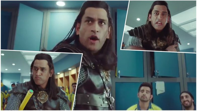 Ms Dhoni Sports Long Hair Look Again Calm Down Folks And Watch This