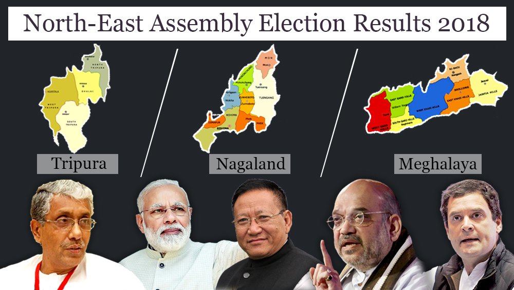 Tripura, Nagaland, Meghalaya Assembly Election Results 2018: Full List of Constituency-Wise Winners From Northeast Polls