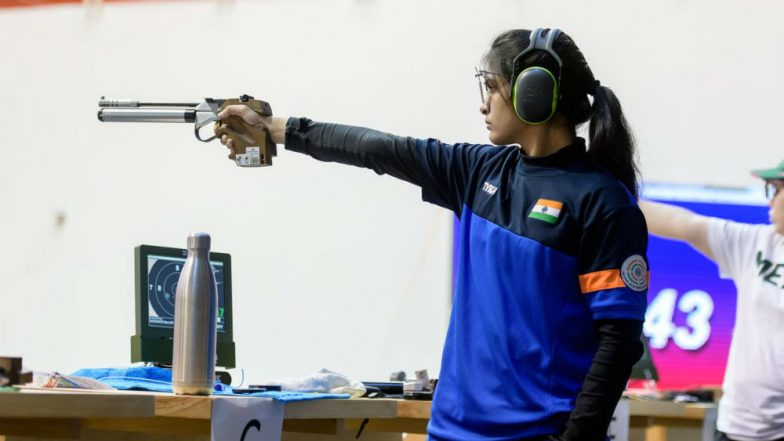 Rizvi bags gold, Jitu, Mehuli get bronze at ISSF WC
