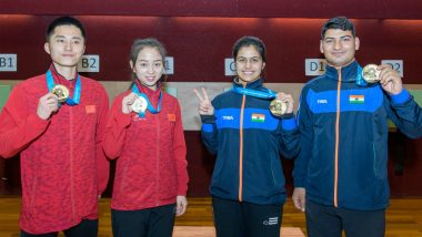 Manu Bhaker Bags Second Gold at ISSF World Cup 2018, Puts India on Top of Medal Tally