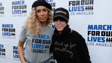 Hollywood Stars Attend 'March For Our Lives' Rally