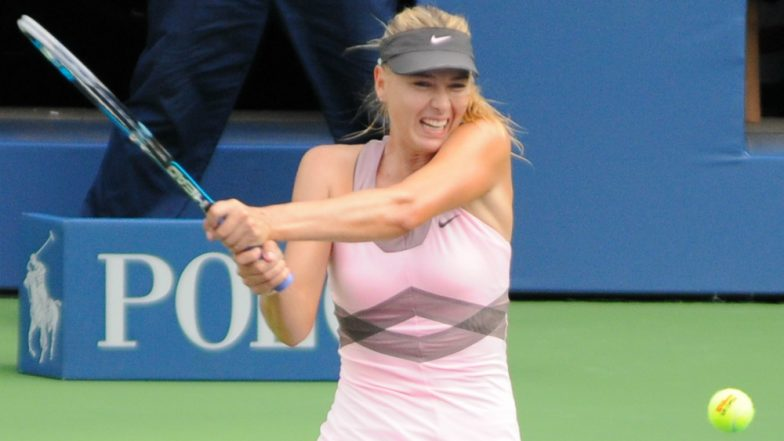 Australian Open 2019: Maria Sharapova Routs Harriet Dart in Straight Sets