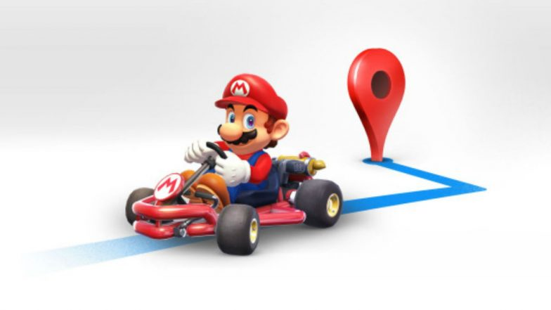 Google Maps and Nintendo celebrate Mario Day