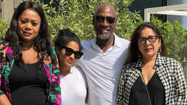 Masaba Gupta shares adorable family pic on Instagram, wishes daddy Viv Richards