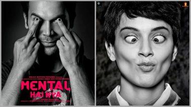 Mental Hai Kya First Look OUT: Rajkummar Rao and Kangana Ranaut's Goofy Avatar Makes us Curious