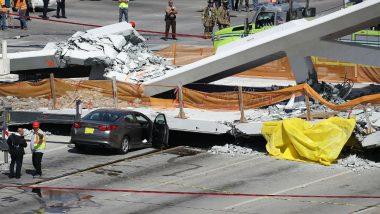 Florida Pedestrian Bridge Collapses Over Miami Highway, Fatalities Reported