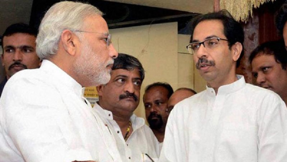Narendra Modi Must Co-Operate with 'Younger Brother' Uddhav Thackeray, Says Shiv Sena