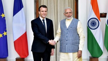 'Welcome Investments in Defence Under Make in India From France', Says PM Modi in Joint Briefing With Emmanuel Macron