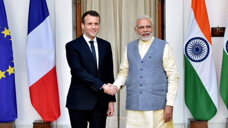 PM Narendra Modi, French President Emmanuel Macron Accorded With UN's 'Champions of the Earth Award'