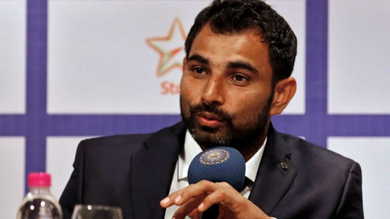 Mohammed Shami booked in nonbailable charges by Kolkata police