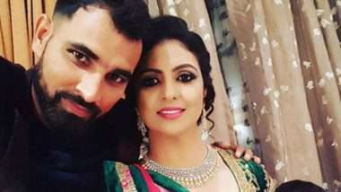 Mohammed Shami's Estranged Wife Hasin Jahan Receives Death and Rape Threat for Congratulatory Messages on Ram Temple Bhoomi Pujan