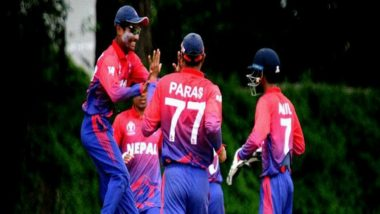 Live Cricket Streaming of Nepal vs Malaysia ICC World T20 Asia Qualifier 2019: Check Live Cricket Score, Watch Free Telecast of NEP vs MAL 5th T20I on TV and Online
