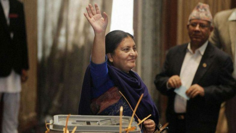 China congratulates Bhandari on re-election as Nepals president