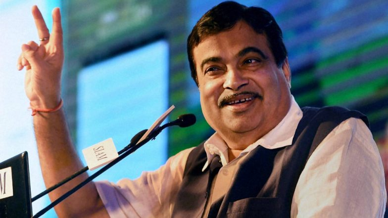 Gadkari announces a new highway alignment between Delhi and Mumbai