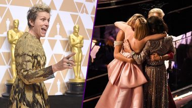 Oscars 2018: Best Actress Nominees Hugging After Frances McDormand's Win is Making Social Media Shed Happy Tears