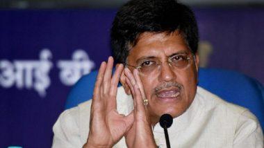 Piyush Goyal Quashes Reports of Shramik Special Trains Taking 7-9 Days to Reach Destination, Calls it 'Baseless'