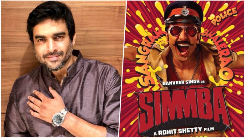 Madhavan moves out of Ranveer's Simmba