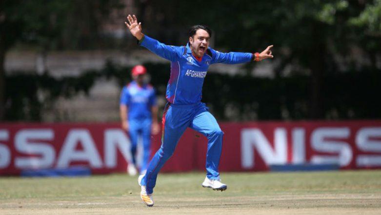 Rashid Khan Becomes Fastest Bowler to Pick 100 ODI Wickets, Beats Mitchell Starc's Record