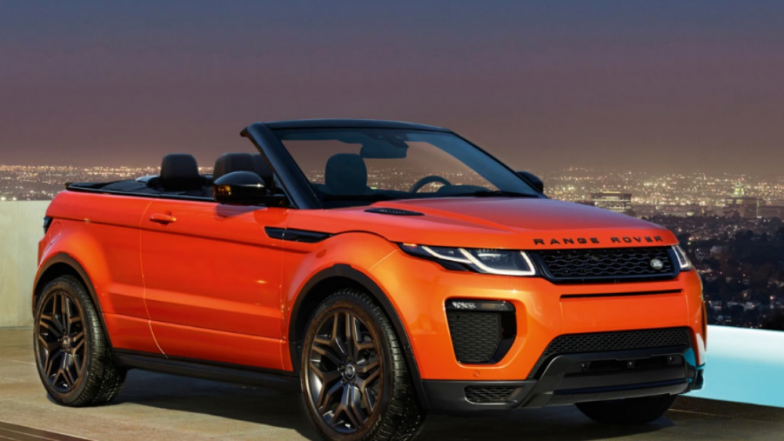 Convertible Range Rover Evoque SUV launched in India Priced at Rs 69.53 lakh, See Amazing Pictures