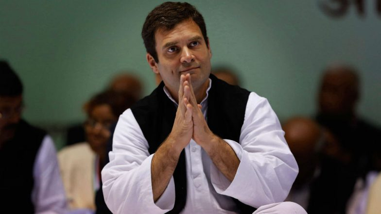 Rahul Gandhi to Campaign in Chhattisgarh from Thursday for Upcoming Assembly Elections