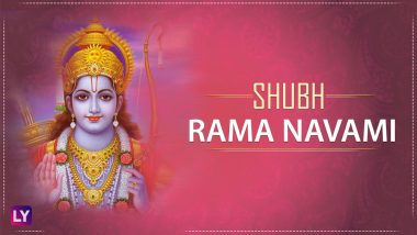 Shri Ram Navami Greetings in Hindi: Best WhatsApp GIF Image Messages, SMS, Facebook Status & Quotes to Wish Happy Rama Navami 2018