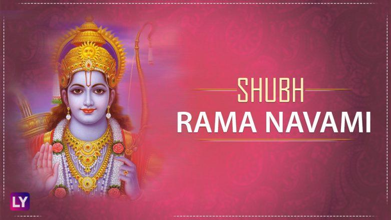 Shri Ram Navami Greetings in Hindi: Best WhatsApp GIF Image Messages, SMS, Facebook Status & Quotes to Wish Happy Rama Navami 2018