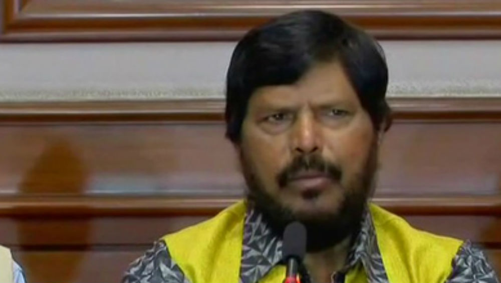 Ramdas Athawale Demands Land for Buddhist Temple in Ayodhya
