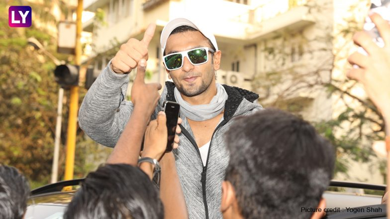 Ranveer singh is super cool with his humility meets and greets fans ranveer singh is super cool with his humility meets and greets fans on the street m4hsunfo