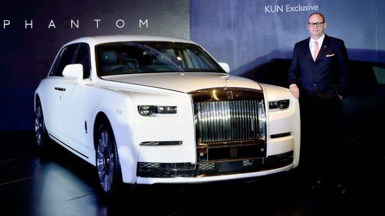 New Rolls Royce Phantom Arrives In India Luxury Car S Specification